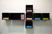 ModulA.R.T. Pops Up - Modular artwork by Donald Rattner, Studio for Civil Architecture opening reception in DUMBO, NY