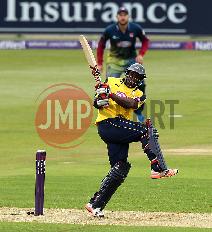 Hampshire's Michael Carberry - Photo mandatory by-line: Robbie Stephenson/JMP - Mobile: 07966 386802 - 22/05/2015 - SPORT - Football - Southampton - Ageas Bowl - Hampshire v Kent Spitfires - T20 Blast