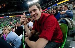 Goran Dragic during second semi-final match of Basketball NLB League at Final four tournament between KK Union Olimpija and Krka (SLO), on April 19, 2011 in Arena Stozice, Ljubljana, Slovenia. Union Olimpija defeated Krka 67-57. (Photo By Vid Ponikvar / Sportida.com)