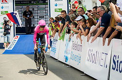 Rigoberto Uran of Team EF Education Cannondale during 5th Time Trial Stage of 25th Tour de Slovenie 2018 cycling race between Trebnje and Novo mesto (25,5 km), on June 17, 2018 in  Slovenia. Photo by Vid Ponikvar / Sportida