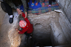 Douma: Underground shelters in Damascus, 4 Nov. 2016