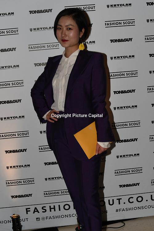 Fashionista attend Fashion Scout - SS19 - London Fashion Week - Day 2, London, UK. 15 September 2018.