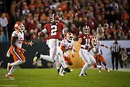 Alabama quarterback #2 Jalen Hurts.