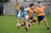 20140510 College Rugby - Under 15 Rongotai v Silverstream