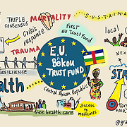 03 June 2015 - Belgium - Brussels - European Development Days - EDD - Health - Bekou - Restoring basic health services in the Central African Republic after the crisis © European Union
