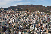 Belo Horizonte_MG, Brasil.<br /> <br /> Vista panoramica de Belo Horizonte e Serra do Curral ao fundo, Minas Gerais.<br /> <br /> Panoramic view of Belo Horizonte with Serra do Curral in the background, Minas Gerais.<br /> <br /> Foto: RODRIGO LIMA / NITRO.