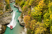 Jetboat along the Shotover River, Queenstown