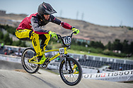 Men Elite #127 (TREIMANIS Edzus) LAT the 2018 UCI BMX World Championships in Baku, Azerbaijan.