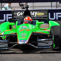 James Hinchcliffe competing in Indycar 2012