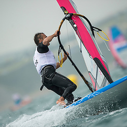 2012 Olympic Games London / Weymouth<br /> RSX man racing day 1 <br /> RS:X MenPORRodrigues Jo?o