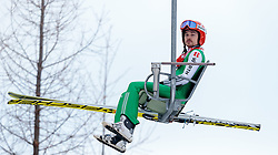 18.12.2016, Nordische Arena, Ramsau, AUT, FIS Weltcup Nordische Kombination, Skisprung, im Bild Fabian Riessle (GER) // Fabian Riessle of Germany during Skijumping Competition of FIS Nordic Combined World Cup, at the Nordic Arena in Ramsau, Austria on 2016/12/18. EXPA Pictures © 2016, PhotoCredit: EXPA/ JFK