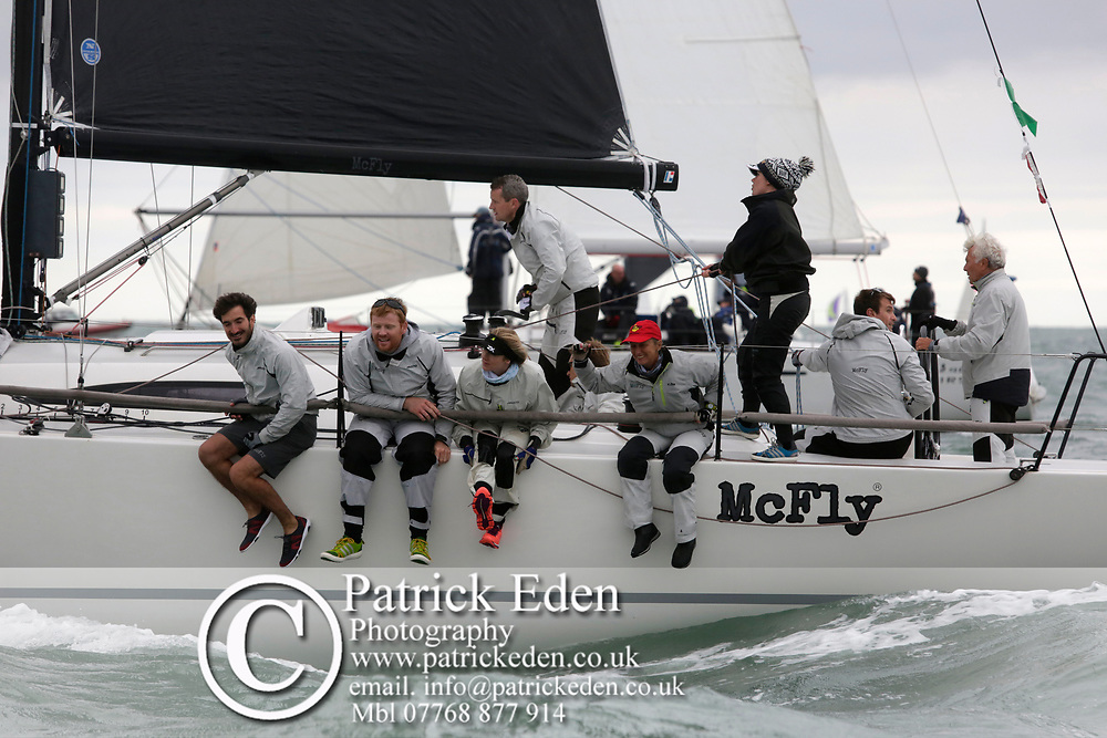 2017, July 1, Round the island Race, Round the Island Race, UK, Isle of Wight, Cowes, MCFLY, GBR 111N,