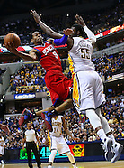 NBA-Indiana Pacers vs Philadelphia 76ers-Indianapolis, IN
