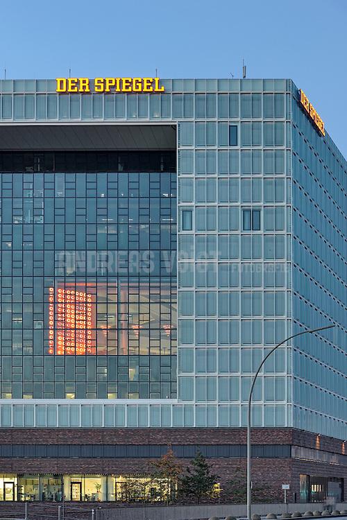 Spiegel Verlagsgebäude an der Elbe