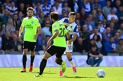 Billy Bodin of Bristol Rovers challenges for the ball with Michael Doughty of Peterborough United - Mandatory by-line: Dougie Allward/JMP - 12/08/2017 - FOOTBALL - Memorial Stadium - Bristol, England - Bristol Rovers v Peterborough United - Sky Bet League One