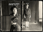 The barber shop slasher, the back-street abortionist and the 'parasite in a skirt': Vintage Australian mugshots reveal some of the country's earliest women criminals<br /> <br /> Haunting images of the past have emerged, showing vintage black and white portraits of Australian women.<br /> But these are no ordinary women. These are the not-so-innocent faces of convicted criminals who were put behind bars from the 1880s to 1930s.<br /> Among them include the infamous razor gangster and prominent madam of the times - Matilda 'Tilly' Devine.<br /> Others include backyard abortionists, drug dealers and those convicted of bigamy, drunkenness and theft.<br /> most of them were sent to the State Reformatory for Women, Long Bay - south of Sydney - which is now known asLong Bay Correctional Complex.<br /> <br /> <br /> Photo shows:  May Ethel Foster, criminal record number 717LB, 27 March 1928. State Reformatory for Women, Long Bay.<br /> <br /> May Foster worked with a male accomplice to break into numerous houses and steal the contents. She had previous convictions for vagrancy, failing to appear in court and receiving stolen goods. She was sentenced to six months with hard labour. Aliases: May Saunders, Hopkins. DOB: 19 September 1901. Criminal associate: Albert Roy Callaway (28).<br /> ©NSW Police Gazette/Exclusivepix
