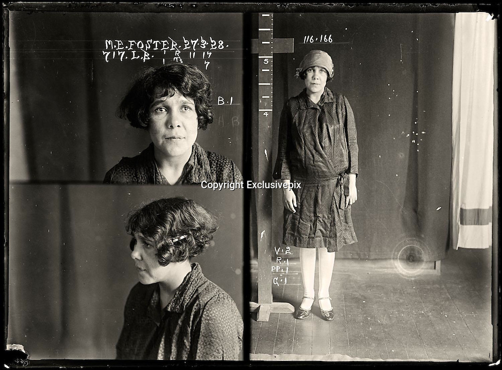 The barber shop slasher, the back-street abortionist and the 'parasite in a skirt': Vintage Australian mugshots reveal some of the country's earliest women criminals<br /> <br /> Haunting images of the past have emerged, showing vintage black and white portraits of Australian women.<br /> But these are no ordinary women. These are the not-so-innocent faces of convicted criminals who were put behind bars from the 1880s to 1930s.<br /> Among them include the infamous razor gangster and prominent madam of the times - Matilda 'Tilly' Devine.<br /> Others include backyard abortionists, drug dealers and those convicted of bigamy, drunkenness and theft.<br /> most of them were sent to the State Reformatory for Women, Long Bay - south of Sydney - which is now known as&nbsp;Long Bay Correctional Complex.<br /> <br /> <br /> Photo shows:  May Ethel Foster, criminal record number 717LB, 27 March 1928. State Reformatory for Women, Long Bay.<br /> <br /> May Foster worked with a male accomplice to break into numerous houses and steal the contents. She had previous convictions for vagrancy, failing to appear in court and receiving stolen goods. She was sentenced to six months with hard labour. Aliases: May Saunders, Hopkins. DOB: 19 September 1901. Criminal associate: Albert Roy Callaway (28).<br /> &copy;NSW Police Gazette/Exclusivepix