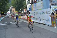 Ciclismo giovanile, 10A Coppa di Sera, Esordienti Secondo Anno Maschi, Borgo Valsugana 10 settembre 2016 <br /> 3° DePretto Davide<br /> © foto Daniele Mosna