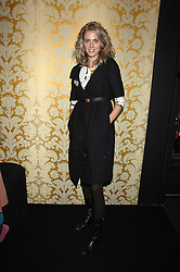 DONNA AIR in the Moet & Chandon Room at British Fashion Week at the Natural History Museum on 15th February 2007.<br /><br />NON EXCLUSIVE - WORLD RIGHTS