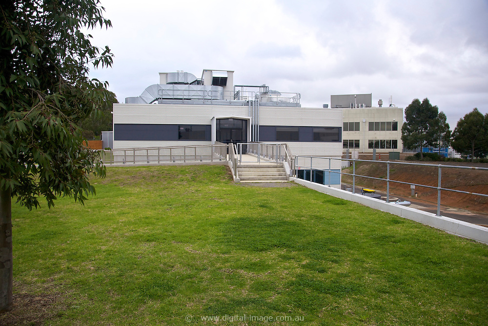 Imaging and Medical Beamline building at the Australian Synchrotron.