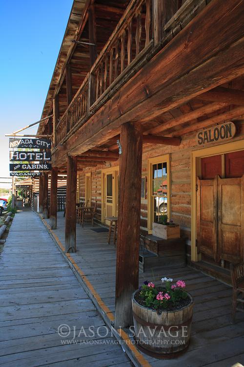 Nevada City, Montana.