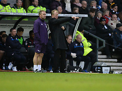 Derby County Manager, Steve McClaren gives directions to his players. - Photo mandatory by-line: Alex James/JMP - Mobile: 07966 386802 - 14/02/2015 - SPORT - Football - Derby  - ipro stadium - Derby County v Reading - FA Cup - Fifth Round