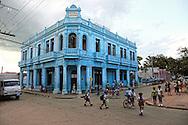 Street in Artemisa Province, Cuba.
