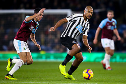 Jose Salomon Rondon of Newcastle United takes on Jack Cork of Burnley - Mandatory by-line: Robbie Stephenson/JMP - 26/11/2018 - FOOTBALL - Turf Moor - Burnley, England - Burnley v Newcastle United - Premier League