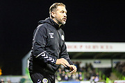 Forest Green Rovers assistant manager, Scott Lindsey during the EFL Sky Bet League 2 match between Forest Green Rovers and Tranmere Rovers at the New Lawn, Forest Green, United Kingdom on 23 October 2018.