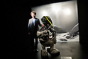 REMO RUFFINI, The Moncler Duck toy interpreted by artist Stuart Semple. Presented by Fraca Sozzani. Raleigh Hotel Miami Beach. 5 December 2008 *** Local Caption *** -DO NOT ARCHIVE-© Copyright Photograph by Dafydd Jones. 248 Clapham Rd. London SW9 0PZ. Tel 0207 820 0771. www.dafjones.com.