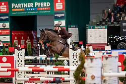 SCHMIDT Jens (GER), Chamberlain<br /> Leipzig - Partner Pferd 2019<br /> Finale Partner Pferd Cup<br /> 17. Januar 2019<br /> © www.sportfotos-lafrentz.de/Stefan Lafrentz