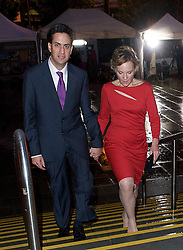 Rt Hon Ed Miliband MP, Leader of the Labour Party and the Opposition with his wife Justine during the Labour Party Annual Conference in Manchester, Great Britain, September 30, 2012 Photo by Elliott Franks / i-Images.