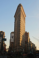 THE FLATIRON BUILDING, New York City, New York, designed by.Daniel H. Burnham & Co. in 1902