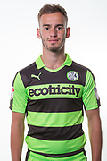 Forest Green Rovers Callum Evans(18) during the Forest Green Rovers Photocall at the New Lawn, Forest Green, United Kingdom on 31 July 2017. Photo by Shane Healey.