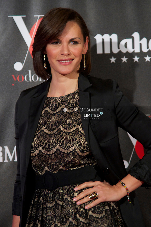 Fabiola Martinez attends 'Yo Dona' Magazine's Mask Party at Casino on 18 February, 2013 in Madrid