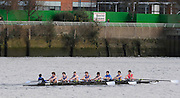 Hammersmith, GREAT BRITAIN,   J15 1st 8+, Canford, 2008 School Head of the River Race,  04/03/2008  2008. [Mandatory Credit, Peter Spurrier/Intersport-images] Rowing Course: River Thames, Championship course, Putney to Mortlake 4.25 Miles, Hammersmith Bridge