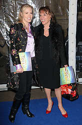 Esther Rantzen  and daughter  arriving at the Cirque Du Soleil: Totem - gala night held at  the Royal Albert Hall in London, Thursday 5th January 2012. Photo by: Stephen Lock / i-Images