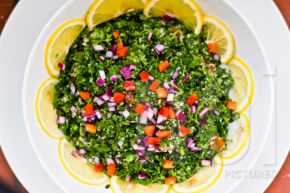 Tabbouleh salad at Saint Honore, Hanoi, Vietnam, Asia