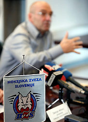 New head coach of Slovenian national team Mats Waltin at Press Conference of Hockey Federation of Slovenia, on November 27, 2007 in Ljubljana, Slovenia . (Photo by Vid Ponikvar / Sportal Images).