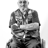 Ray Mizen RAF 1967-1981 Aden & N.I. Chief Tech. 55 Squadron.<br /> Although Ray suffered a spinal injury resulting in some mobility issues & neuropathy in both feet, He remains an active member of the R.B.L.Riders branch, using an adapted trike motorcycle.