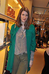 LADY SOPHIE HAMILTON at a champagne breakfast hosted by Carolina Gonzalez-Bunster and TOD's in aid of the Walkabout Foundation held at TOD's, 2-5 Old Bond Street, London on 9th May 2013.