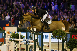 Whitaker William, GBR, Illusionata van 't Meulenhof<br /> Jumping Amsterdam 2018<br /> © Sharon Vandeput<br /> 26/01/18