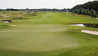 SPIJK - Hole 15 van The Dutch .   Golfbaan THE DUTCH, waar het KLM Open in september 2016 zal worden gehouden. COPYRIGHT KOEN SUYK