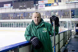 Portrait of Igor Beribak, hockey coach in HK Olimpija Ljubljana, on January 25, 2018 in Hala Tivoli, Ljubljana, Slovenia. Photo by Matic Klansek Velej / Sportida
