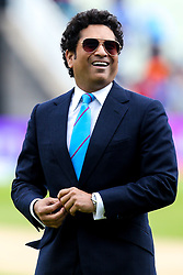 Indian Cricket legend Sachin Tendulkar - Mandatory by-line: Robbie Stephenson/JMP - 30/06/2019 - CRICKET - Edgbaston - Birmingham, England - England v India - ICC Cricket World Cup 2019 - Group Stage