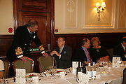 Sir Alan West, Sir Alan Whicker, Michael Howard and Lady West. Oldie magazine's Oldie of the Year Awards 2006. Simpson's. the Strand. London.21 March 2006.  ONE TIME USE ONLY - DO NOT ARCHIVE  © Copyright Photograph by Dafydd Jones 66 Stockwell Park Rd. London SW9 0DA Tel 020 7733 0108 www.dafjones.com