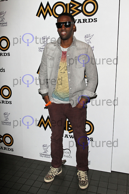 LONDON - SEPTEMBER 17: Ashley Bashy Thomas attended the Nominations Launch of the MOBO Awards at Floridita London, UK. September 17, 2012. (Photo by Richard Goldschmidt)