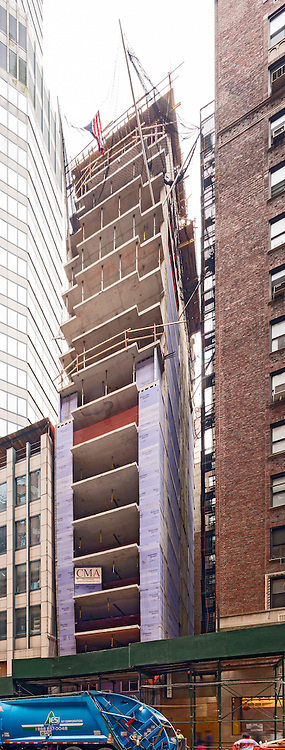 Construction Photo of 160 W. 56th St. Manhattan. Shot for CM&Associates of Newark NJ.
