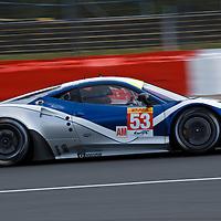 #53 Ferrari 458 Italia, RAM Racing (drivers: Collins, Mowlem, Patterson) GTE AM, at Silverstone 6h 2014