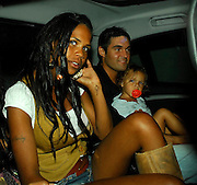 07.AUGUST.2007. LONDON<br /> <br /> CHARLEY UCHEA FROM BIG BROTHER HAVING A FAMILY REUNION DINNER AT ZUMA RESTAURANT, KNIGHTSBRIDGE WITH HER FOOTBALLER COUSIN KIERAN RICHARDSON OF SUNDERLAND AND OTHER FAMILY AND FRIENDS, SHE KEPT COMING OUTSIDE TO HAVE A CIGARETTE BEFORE LEAVING THE RESTAURANT AT 11.30PM.<br /> <br /> BYLINE: EDBIMAGEARCHIVE.CO.UK<br /> <br /> *THIS IMAGE IS STRICTLY FOR UK NEWSPAPERS AND MAGAZINES ONLY*<br /> *FOR WORLD WIDE SALES AND WEB USE PLEASE CONTACT EDBIMAGEARCHIVE - 0208 954 5968*
